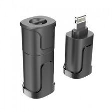3 in 1 for iPhone iPad 8 pin 3.5mm Headphone Micro USB Charging adapter