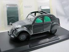 NOREV 181499 - 1957 CITROEN 2cv AZL malle bombée gris 1/18