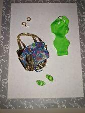 Black Label Barbie Doll Basics Model 02 Collection 003 Green Bathing Swimsuit