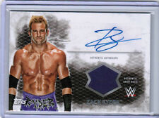 2015 TOPPS WWE UNDISPUTED ZACK RYDER UAR-ZR AUTHENTIC SHIRT RELIC AUTO AUTOGRAPH