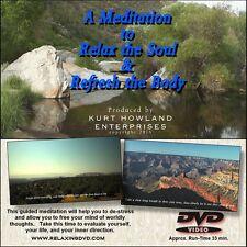 Relaxation & Guided Meditation 5 DVD Set, Plus a FREE Bonus Disk.
