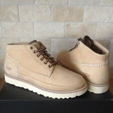 UGG CAMPFIRE TRAIL BOOTS SHOES TAN HEAVY NUBUCK LEATHER SIZE US 10 MENS