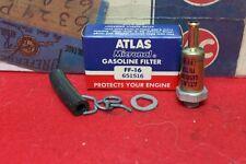 VINTAGE NOS ATLAS FUEL GAS GASOLINE FILTER FF-16 651516 CHEVY BUICK FORD DODGE