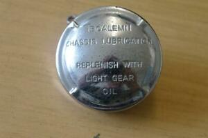 TECALEMIT CHROME CHASSIS LUBRICATION / OIL FILLER CAP
