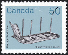 Canada Stamp #930 - Sleigh (1985) 50¢