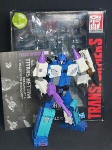 Transformers Titans Return Leader Class Overlord & Dreadnaut Complete Hasbro