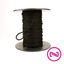 Black Theatrical Tie Line Trick Line - #4 300' Spool - Unglazed Diamond Braid