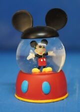 "Classic Mickey Mouse Snowglobe  ""Mickey Playhouse"" Disney Figurine 19517"