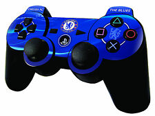 Chelsea Football Club Playstation 3 Controller Skin Sticker PS3 Blues Brand New