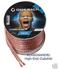 OEHLBACH  Speaker-Wire SP-25/3000 Lautsprecherkabel 2,5mm² SB-Rolle 30m Neu