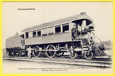 cpa RAILWAY LOCOMOTIVE faisant le Service de NEW YORK à SAN FRANCISCO TRAIN