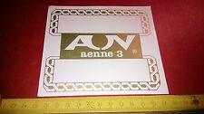 Adesivo da collezione  AENNE 3