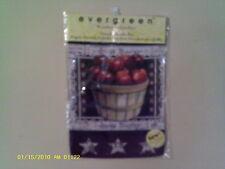 Welcome Apples, Decorative Garden Flag