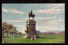 tuck wide world field marshall roberts statue military calcutta india postcard