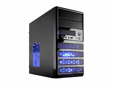 Rosewill RANGER-M Dual Fans MicroATX Mini Tower Computer Case w/ Blue LED Fan