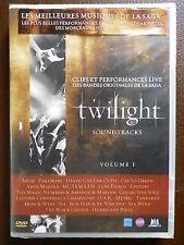 TWILIGHT -Soundtrack  Clips & performances  live des BO de la saga  DVD NEUF