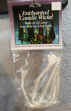 "Darice Enchanted Candle Wicks - 5 Different Wick Holders Up to 3/4"" Opening"