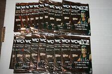 10 X Topps Wwe Heritage 2016 Packs Tarjeta De Comercio 9 tarjetas por paquete de paquetes