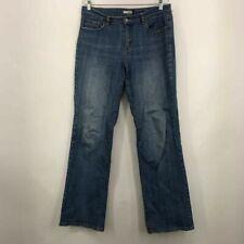 Tint Womens Boot Cut Jeans Blue Stretch Pockets Faded Cotton Blend Denim 10