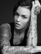 "047 Ruby Rose - Australian Model DJ Actress 14""x18"" Poster"