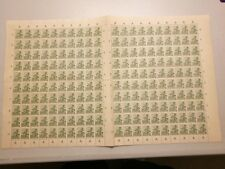 RARE VINTAGE 1941 DUTCH / NETHERLANDS INDIES / INDONESIA  4 cent Stamps sheet