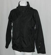 Marmot Membrain Womens Rain Jacket Size XS Water Resistant Hoodie Black