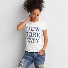 AMERICAN EAGLE OUTFITTERS Crew Graphic Favorite T-Shirt Medium *Brand New w Tag*