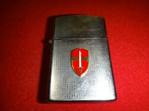 BRYCO Lighter With US Army MACV Emblem - Made In Japan