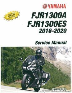 Yamaha Fjr1300 Motorcycle Repair Manuals Literature For Sale Ebay