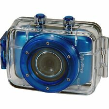 Vivitar DVR 785HD 5MP Pro Waterproof Action Camcorder w/ 2-Inch LCD - Blue