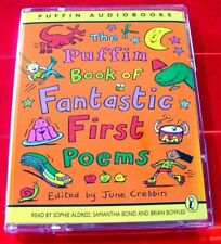 The Puffin Book Of Fantastic First Poems 2-Tape Audio Allan Ahlberg/Sylvia Plath