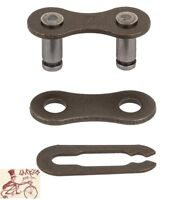 "KMC BROWN 1/2"" X 1/8""  BICYCLE CHAIN 3-PIECE MASTER LINK"