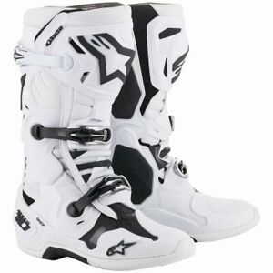 2019 Alpinestars Tech 10 MX Boots - White
