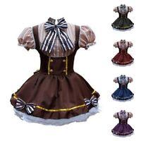 Womens Lolita Dress Steampunk Dresses Cosplay Costume Harajuku Kawaii Skirt