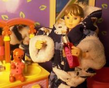 Rement Lot Dog soap Bathrobe Beauty Lot fits Fisher Price Loving Family Dolls