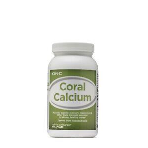 GNC Coral Calcium 180 Capsules EX: 12/2021