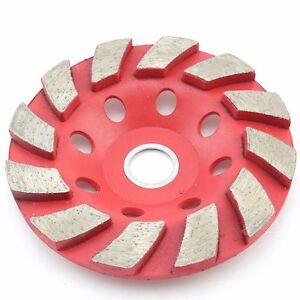 Double Row Grinding Wheel Grinding Disc Stone Concrete Wall Floor Polishing Pad