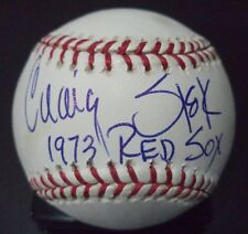 CRAIG SKOK 1973 RED SOX SIGNED AUTOGRAPHED ROMLB BASEBALL W/COA