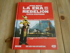 STAR WARS LA ERA DE LA REBELION - Alianzas Desesperadas - juego rol - EDGE - FF