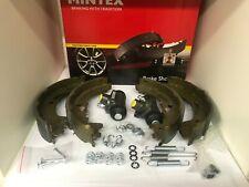 MINTEX Bremsbacken KIT + Radbremszylinder + Zubehör FORD Fiesta 3 COURIER HINTEN