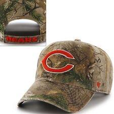 NWT~ MEN'S '47 BRAND CHICAGO BEARS, REALTREE HUNTING/SPORTS CAP + BEARS SOCKS