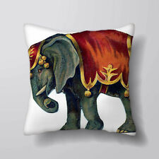 Circus Elephant Printed Cushion Covers Pillow Cases Home Decor or Inner