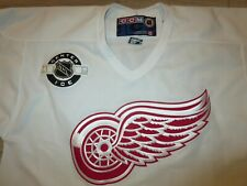 Brendan Shanahan #14 Detroit Red Wings center ice CCM Hockey NHL Jersey LG L