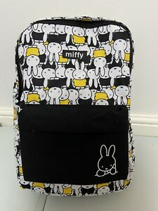 Rare Miffy Backpack | 39 x 27 x 16 cm | Fully Adjustable Strap.