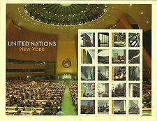 United Nations Scott #NY 1055, M/S 2013 Complete Set FVF MNH