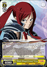 "Weiss Schwarz ""Black Winged Armor"" Erza - FT/EN-S02-005 - R Fairy Tail Ver. E x1"