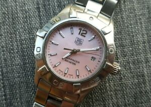 TAG Heuer Aquaracer Women's Watch WAF1418 Mother of Pearl Dial
