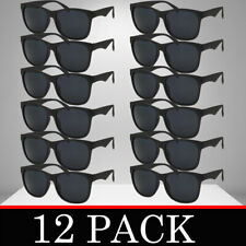 MENS WOMENS SUNGLASSES WHOLESALE 12 PACK BULK CLASSIC WAYFAR STYLES LOT NEW STYL