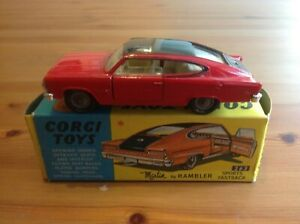 CORGI 263 MARLIN RAMBLER ORIGINAL AND BOXED