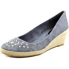 Zapatos de tacón de mujer de tacón medio (2,5-7,5 cm) de lona talla 40